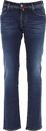 Jacob Cohen Jeans, Bluejeans, Denim Jeans für Herren Günstig im Outlet Sale, Denim Blau, Baumwolle, 2019, 46 49 50 52