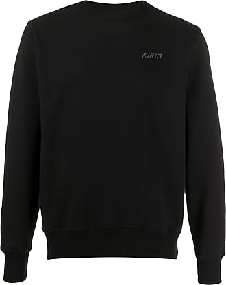 Kirin moon-print sweatshirt - Black
