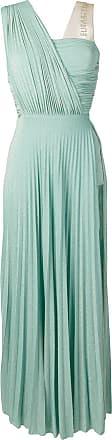 Elisabetta Franchi pleated evening dress - Green