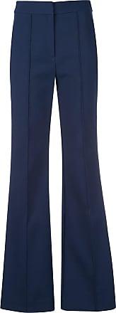 Diane Von Fürstenberg Calça flare - Azul