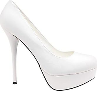 ANDRES MACHADO HIGH Heels, Pumps, 43, creme weiss