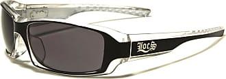 Locs Mens Locs Wrap Sunglasses Sports Motorcycling Glasses (White (clear))