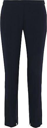 Elie Tahari Elie Tahari Woman Marcia Crepe Skinny Pants Midnight Blue Size 8