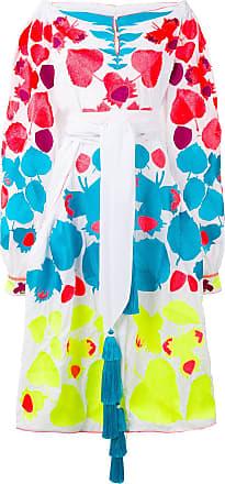 Yuliya Magdych Nutwood dress - White