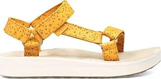 Teva Womens Midform Universal Star Sandal Sling Back, Yellow Sunflower Snf, 7 UK