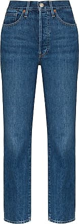 3x1 Claudia high-waisted slim fit jeans - Blue