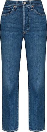 3x1 Calça jeans slim cintura alta Claudia - Azul