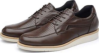 Avalon Organics Sapato Casual Couro Avalon Sport Ben Marrom Tamanho:40