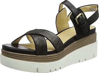 02322faf20f Geox Womens D RADWA C Platform Sandals Black C9999 3 UK