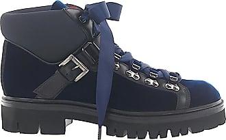 Santoni Ankle Boots Blue 56831