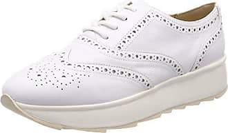 Geox D Asheely Plus B, Scarpe Stringate Derby Donna