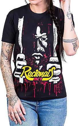 Bandalheira Camiseta Racionais MCs Raio X Brasil Estampa Frente e Costas