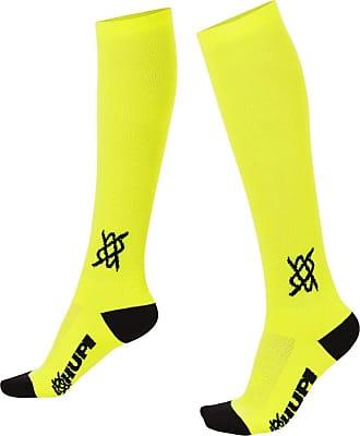 Hupi Meia Hupi Longa Amarelo Neon Lisa - 30 cm de Cano, Cor: Amarelo Neon, Tamanho: Único