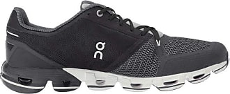 On On Cloud, mens running shoes and walking shoes, mens, CLOUDFLYER, Black White, 44 (EU)