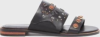 Kelsi Dagger Raven Sandals Black Leather WomenS Sandal 7.5
