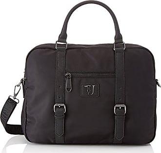 Trussardi Brooklin, Sacs pour ordinateur portable homme, Nero, 41x31x10 cm  (W x e54e9685ed6
