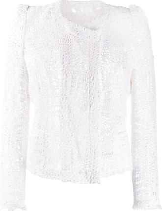Iro cropped lace jacket - White