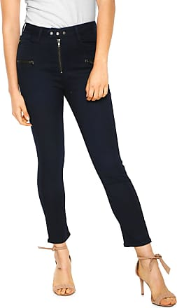 Zoomp Calça Sarja Zoomp Slim Bolsos Azul-marinho