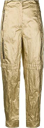 Philosophy di Lorenzo Serafini metallic trousers - GOLD