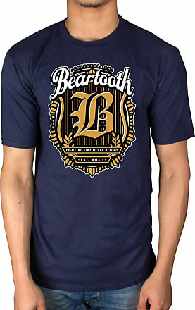 AWDIP Official Beartooth Fighting T-Shirt The Lines in Between Navy