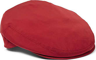Loro Piana Roadster Shell Flat Cap - Red