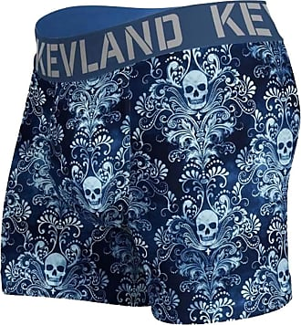 Kevland Underwear Cueca Kevland Boxer Wallpaper Skull KEV275 GG