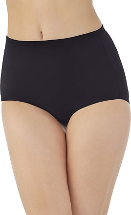 Vanity Fair Womens Cooling Touch Brief Panty 13123, Midnight Black, 9