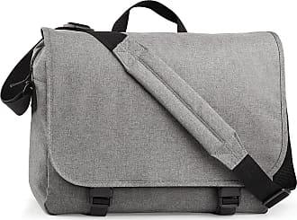 BagBase Unisex Bag Base Two Tone Adjustable Shoulder Strap Crossbody Digital Messenger Bag In Grey One Size