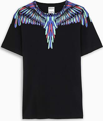 Marcelo Burlon Black S/S Fluo Wings t-shirt