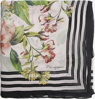 Dolce & Gabbana Floral print silk scarf - DOLCE & GABBANA - woman