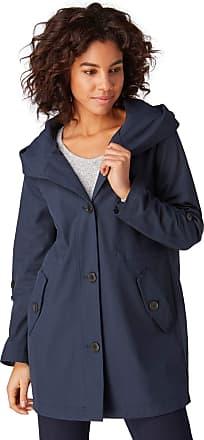 Tom Tailor Womens 1007971 Jacket, Blue (Sky Captain Blue 10668), XL