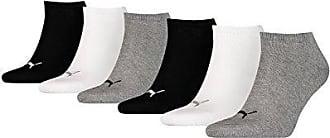 Puma unisex Sneaker Socken Kurzsocken Sportsocken 261080001 6 Paar, Farbe:Mehrfarbig, Menge:6 Paar (2 x 3er Pack), Größe:35 38, Artikel: 882