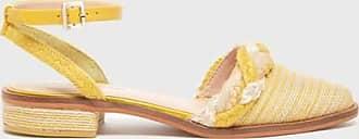 Kelsi Dagger Annalese Woven Sandals Yellow WomenS Sandal 6.5