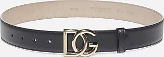 Dolce & Gabbana Monogram leather belt - DOLCE & GABBANA - woman