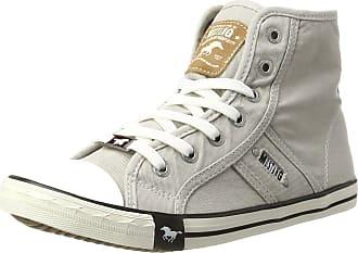 Mustang 1099-502-22, Womens Hi-Top Sneakers, Grey (Light Grey 22), 4.5 UK (37 EU)