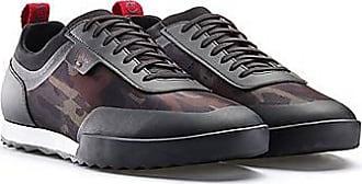 HUGO BOSS Sneakers mit Camouflage-Print und thermofixierten Details