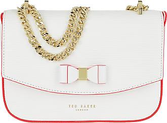 Ted Baker Daissy Bow Mini Crossbody Bag Ivory Umhängetasche weiß