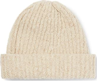 Inis Meáin Ribbed Merino Wool And Cashmere-blend Beanie - Cream