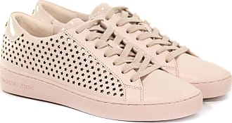 Michael Kors SNEAKER IRVING LACE UP IN PELLE 21 colore ROSA 6ee3f21b048