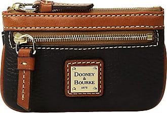 Dooney & Bourke Pebble Small Coin Case (Black) Coin Purse