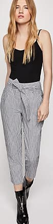 BCBGeneration Railroad Stripe Cropped Pant