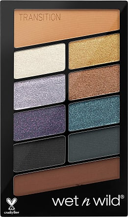 Wet n Wild WETNWILD ICON SOMBRA DE OJOS COSMIC COLISSION 1UN Eye Shadow, Negro, Only