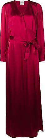 Forte_Forte wrap front maxi dress - Vermelho