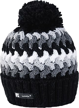 morefaz Beanie Hat London Wool Knitted Nordic with Ponpon Mens Womens Winter Cap Warm Fashion SKI Snowboard Hats (Cookie 39) MFAZ Ltd