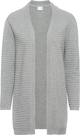 grå lång cardigan
