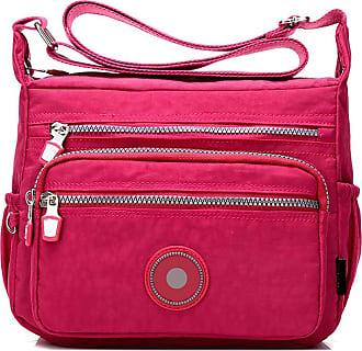GFM Womens Nylon Cross Body Shoulder Bag (88)(S2-1218-CRTGLB)