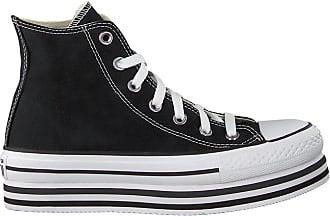 Converse Zwarte Converse Hoge Sneaker Chuck Taylor All Star Eva Lift