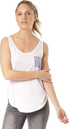Rip Curl Summer SWAY Tank Women,Tank-Blouse,Tank Tops,Vest top Ladies,top,Shirt,Sleeveless,Round Neckline,Breast Pocket,Casual,White,S