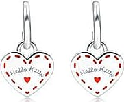 Chow Sang Sang Hello Kitty Sterling Silver Earrings