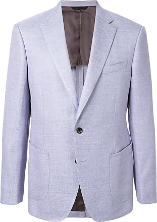 Durban textured blazer - Blue